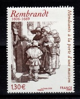 YV 3984 N** Rembrandt - Prix = Faciale - Ungebraucht