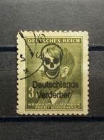 Böhme Und Mähren Aufdruck Deutsche Verderber Mi-Nr.102 Gestempelt - Boemia E Moravia
