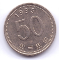 S KOREA 1995: 50 Won, KM 34 - Korea, South