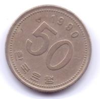 S KOREA 1990: 50 Won, KM 34 - Korea, South
