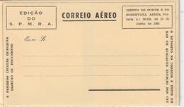 "Portugal / Luftpostfaltbrief ""EDICAEO DO S.P.M.R.A."" (BA70) - Postal Stationery"