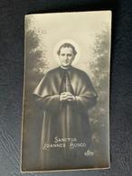 "Antico Santino - Holy Card "" S. GIOVANNI BOSCO "" Foto Ed.EB 160 - Religion & Esotericism"
