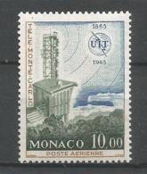 MONACO ANNEE 1965 PA N°84 NEUF**NMH - Poste Aérienne