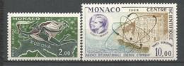 MONACO ANNEE 1962 PA N°79 80 NEUFS**NMH - Poste Aérienne