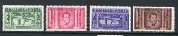 ROUMANIE- Y&T N°511 à 514- Neufs Sans Charnière ** - 1918-1948 Ferdinand I., Charles II & Michel