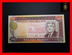 TURKMENISTAN 500 Manat 1995 P. 7 B  UNC - Turkmenistan