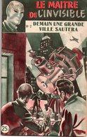 Demain Une Grande Ville Sautera Par Edward Brooker - Collection Le Maître De L'invisible N°2 - Aventura