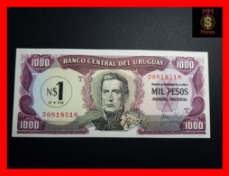 URUGUAY 1  Nuevo Peso 1975  P. 55  Rare  UNC - Uruguay