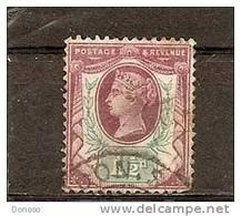 GRANDE BRETAGNE 1881 VICTORIA  Yvert 93 Oblitéré, Used, Cote 7  Euros - 1840-1901 (Victoria)