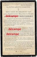 Oorlog Guerre Jean Baptist Sint Pieters Leeuw Soldaat Vestingsartillerie Gesneuveld Fort Chaudfontaine 13 August 1914 - Andachtsbilder