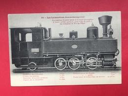 N°1990. LOCOMOTIVE A VAPEUR. SERIE « LES LOCOMOTIVES (BOSNIE HERZEGOVINE) ». LOCOMOTIVE TENDER A  ROUES ACCOUPLEES - Trains