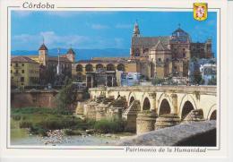 (AKZ481) CORDOBA. VISTA GENERAL. PUENTE ROMANO. UNESCO. PATRIMONIO DE LA HUMANIDAD - Córdoba