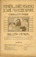BULLETIN MENSUEL MONASTERE DES OBLATES REGULIERES DE SAINT FRANCOISE ROMAINE - CORMEILLES EN PARISIS - Religione