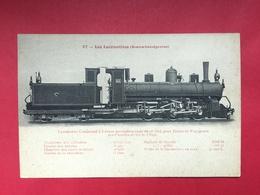 N°1991. LOCOMOTIVE A VAPEUR. SERIE « LES LOCOMOTIVES (BOSNIE-HERZEGOVINE) ». LOCOMOTIVE COMPOUND A 6 ROUES ACCOUPLEES - Trenes