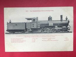 N°1993. LOCOMOTIVE A VAPEUR. SERIE « LES LOCOMOTIVES (BOSNIE-HERZEGOVINE) ». LOCOMOTIVE COMPOUND A 8 ROUES ACCOUPLEES - Trains