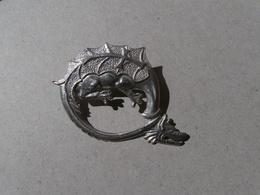 Dragon - Animal Fabuleux - Symbolisme Du Moyen-âge - Medieval Symbolism - Bestiaire - étain-pewter-zinn - Pin's