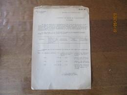 CAMBRAI LE 4 SEPTEMBRE 1941 LE SOUS-PREFET L'AUTORITE ALLEMANDE A DECIDE DE METTRE UNE ARME  (REVOLVER) A LA DISPOSITION - Documents Historiques