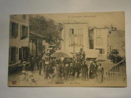 L'Auvergne Pittoresque Marsat La Place Jour De Foire Très Animé,Puy De Dôme 63,non écrite Environ 1910,très Bel état,rar - Autres Communes