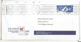 CC CON ATM LABEL EXPO 98 LISBOA MAT PALMA MALLORCA - Universal Expositions