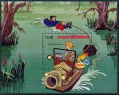 NB - [91606]SUP//-GRENADINES - Walt Disney - Bernard Et Bianca, B.D, Le Bloc De 5$ - Disney