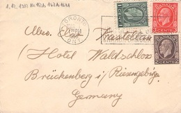 KANADA - BRIEF 1935 TORONTO - BRÜCKENBERG/RIESENGEBIRGE /ak590 - Lettres & Documents