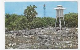 GUADELOUPE - N° 16 Bis - SERIE LUXE PARMIN CANDALEN - FLAMBEAUX DE LA MER - PHARE DE LA DESIRADE  FORMAT CPA NON VOYAGEE - Guadeloupe