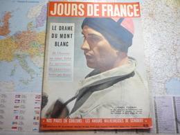 Jour De France N°113 12 Janvier 1957 Le Drame Du Mont-Blanc / Film Les Amours Malheureuses De Schubert /Hongrie - People