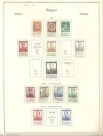 Belgique Lot N°7 - 1912 Pellens