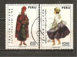 Perú  Nº Yvert  Aéreo 343-345 (usado) (o) - Pérou