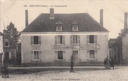 EGUZON La Gendarmerie - France