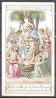 Image Pieuse Anges Du Seigneur Chocolaterie D' Aiguebelle - Devotieprenten