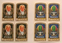 "POR#3280-Set Of 2 Blocks Of 4 MNH Stamps - ""150. Aniversário Da Independência Do Brasil - LUBRAPEX"" - Portugal - 1972 - Blocs-feuillets"