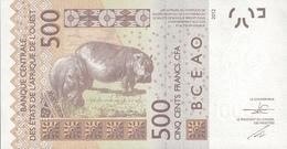 WEST AFRICAN STATES P. 719Kd 500 F 2015 UNC - Sénégal
