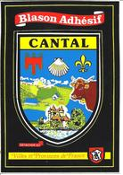 CANTAL - Blason Adhésif - Unclassified