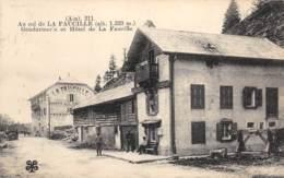 Col De La Faucille - Gendarmerie Et Hôtel De La Faucille - Gex