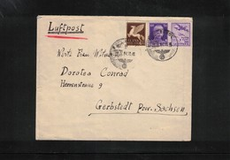 Italy / Italia 1942 Fieldpost To Germany Interesting Letter - Marcofilie