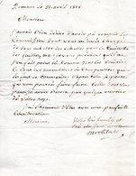26 ROMANS DROME COURRIER LETTRE 1818 DIE ECHELLE ECHELLES - Historical Documents
