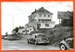 68 88 LE MARKSTEIN Hotel Bellevue Sté Téleskis Hautes Vosges Voitures Citroën Traction 4 Cv 203 Carte Vierge TBE - Altri Comuni