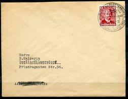 """German Empires 1936 Bedarfsbrief/Cover Mit Mi.Nr.605 U. SST""""Berlin-Charlottenburg.-AUTOSCHAU Berlin """"1Beleg - Voitures"""