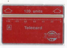 PARAGUAY TELECARTE ANTELCO 120U MINT - Paraguay