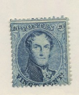 15.B ** 20c Sans Charnière Gomme Originale**   Cv: 170-€.  Sans Charnière. TRES FRAIS - 1863-1864 Médaillons (13/16)