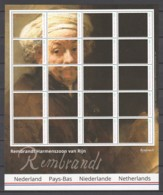 Burundi - MNH Sheet PAINTING REMBRANDT - SELF PORTRAIT (AS APOSTLE PAUL)(1661) - Rembrandt