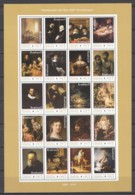 Ghana 2019 - MNH Sheet (1) - 350TH ANNIVERSARY DEATH OF REMBRANDT VAN RIJN (1669-2019) - Rembrandt