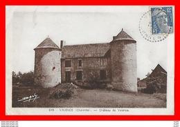 CPA (16) VALENCE.  Château De Valence...S979 - France
