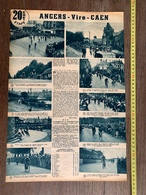1936 M CYCLISME ANGERS VIRE CAEN LAVAL GRAVELLE LANDEAU - Collections