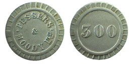 04364 GETTONE JETON TOKEN GETTONE GAMING PESSERS & MOODY LTD AMUSEMENT MACHINE T - Royaume-Uni