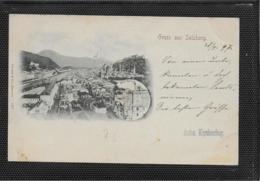 AK 0475  Gruss Aus Salzburg - Verlag Stengel & Co Um 1897 - Salzburg Stadt