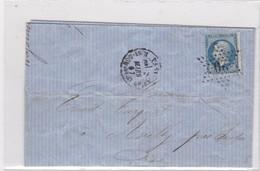 Courrier  Senlis Chantilly Avilly - Vieux Papiers