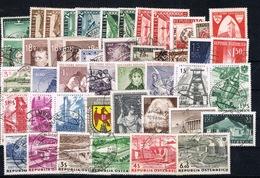 D(VEI) 21 ++ AUSTRIA ÖSTERREICH LOT GESTEMPELD - 1961-70 Gebraucht