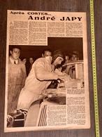 1936 M APRES COSTES ANDRE JAPY AVIATEUR LE BOURGET LE SIMOUN - Collections
